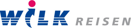 Logo Wilk-Reisen … Freude am Reisen!